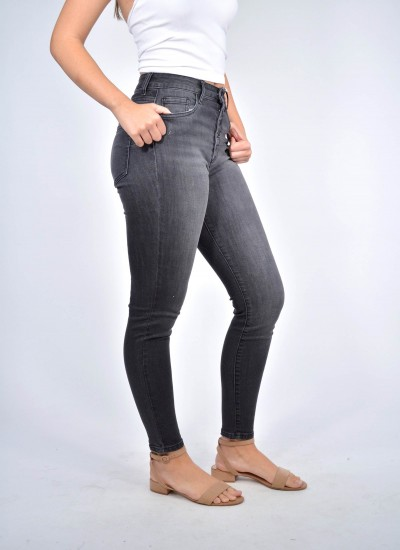 H.R Up Lifter Skinny Woven Jenas