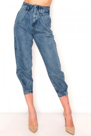 Extreme High Waist Slouchy Jeans