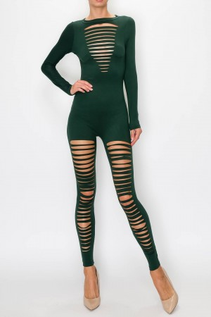 Designed Cut Jumpsuit
