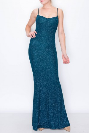 Lux Padded Cami Maxi Dress